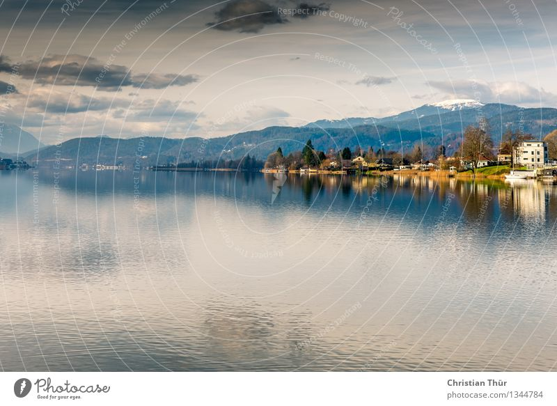 Lake Wörthersee / Pörtschach Healthy Wellness Life Contentment Senses Relaxation Meditation Swimming & Bathing Vacation & Travel Tourism Trip Adventure Summer