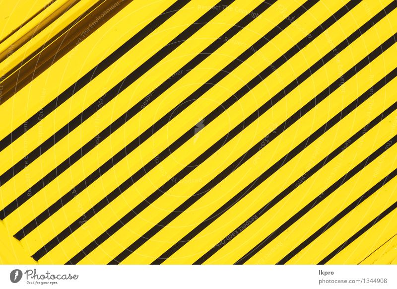 n railing steel and background Old Black Yellow Gray Line Metal Design Decoration Perspective Industry Protection Fence Barrier Rust Steel Material