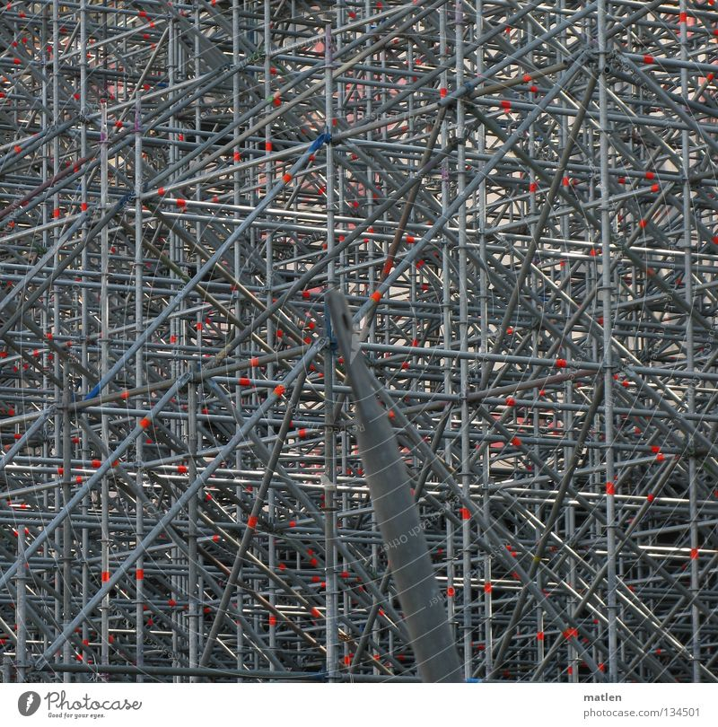 Atomium II Steel Scaffold Scaffolding Construction Prop Symmetry Geometry Graphic Abstract Background picture Irritation