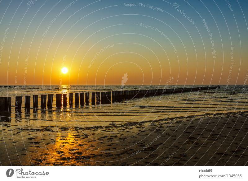 Nature Vacation & Travel Water Sun Relaxation Ocean Landscape Beach Yellow Coast Tourism Idyll Waves Island Romance Baltic Sea