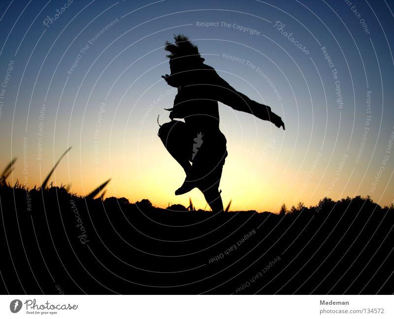 Summer Joy Jump Spring Freedom Flying Weightlessness