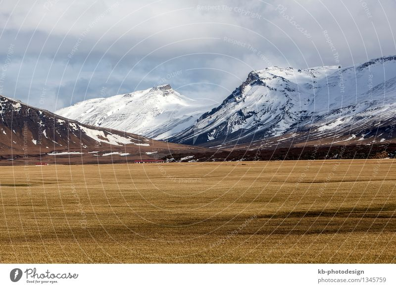 Vacation & Travel Far-off places Winter Mountain Tourism Adventure Iceland Snæfellsnes
