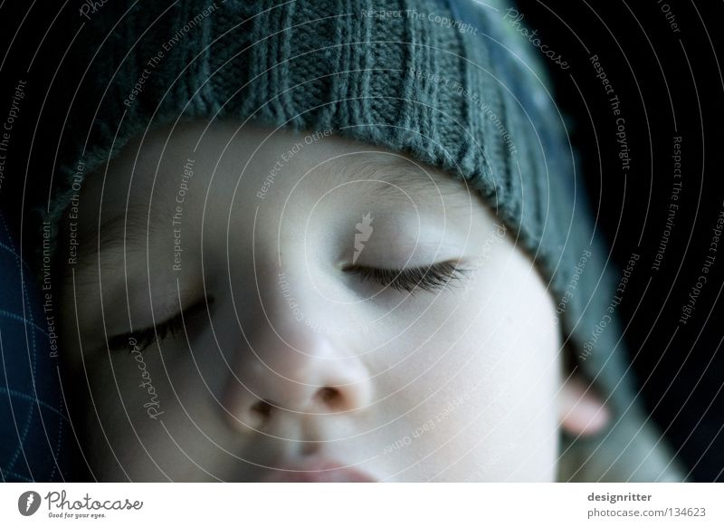 dreamer Child Sleep Rest Calm Dream Trust Completed Fatigue Exhaustion Boy (child) Relaxation Contentment Face Eyes Closed Pallid plumped Peaceful Effort