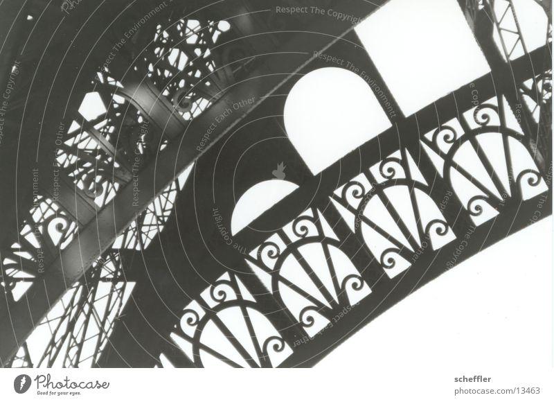 Building Architecture Paris Iron Eiffel Tower