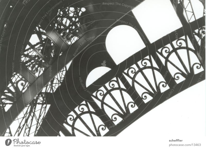 Eiffel tower_detail02 Eiffel Tower Paris Iron Building Architecture