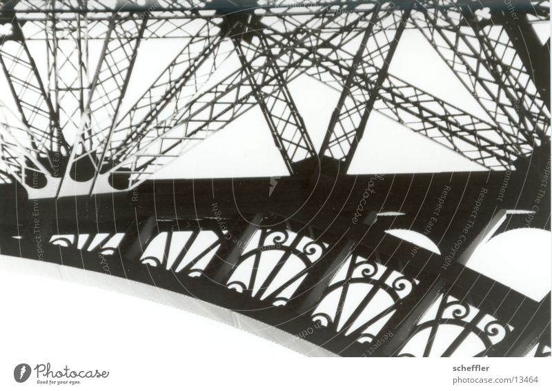 Building Art Architecture Paris Iron Eiffel Tower
