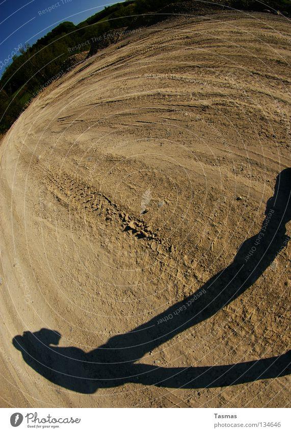 Sand Earth Exceptional Posture Desert Bizarre Edge Surrealism Site Unwavering Fisheye Film worthy
