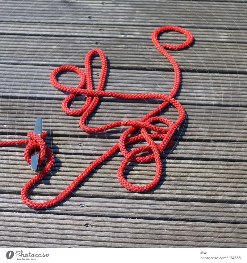 Wood Rope Leisure and hobbies Sailing Footbridge Muddled Knot