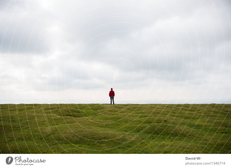 Somewhere in nowhere Human being Masculine Young man Youth (Young adults) Man Adults Life 1 18 - 30 years 30 - 45 years Environment Nature Landscape Meadow