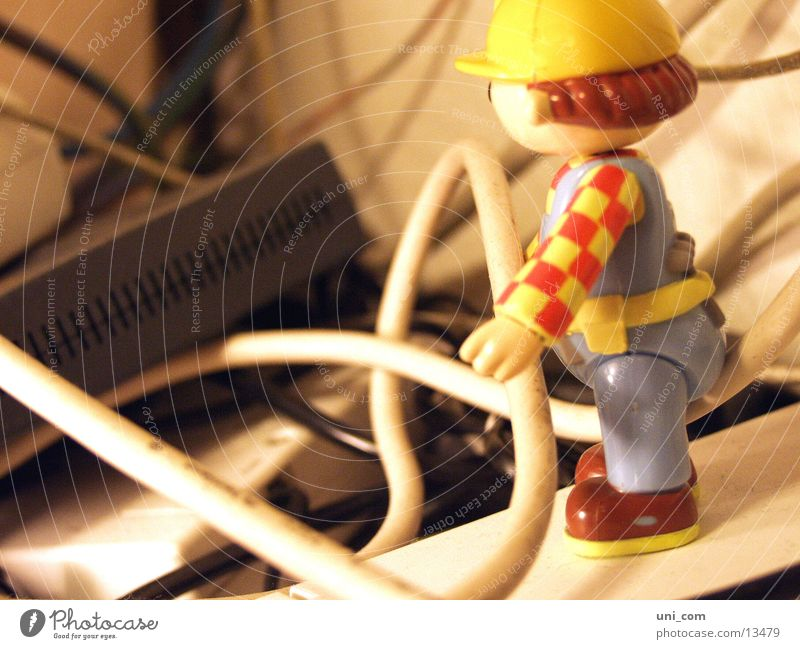 Cable carrier Bob Piece Internet Email modem Bob the Builder