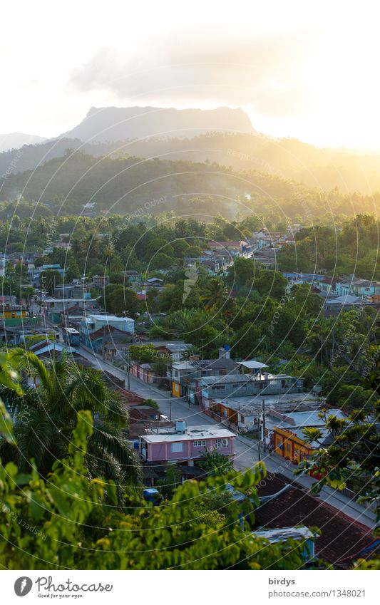 Table Mountain el yunque, Cuba Vacation & Travel Tourism Summer vacation Nature Sunlight Tree Small Town Street Illuminate Esthetic Exotic Positive Idyll Life