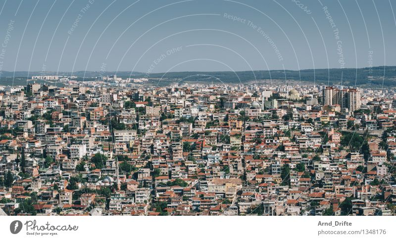 Izmir Living or residing Environment Sky Turkey Town Populated Overpopulated House (Residential Structure) Hut High-rise Building Architecture Poverty Dirty