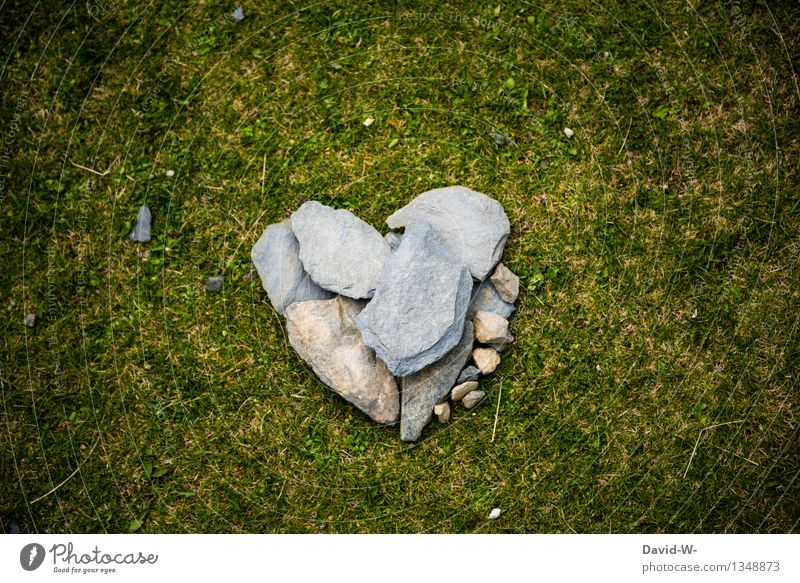 Heart of stone Healthy Vacation & Travel Adventure Hiking Human being Art Environment Nature Meadow Sharp-edged Elegant Beautiful Cold Joie de vivre (Vitality)