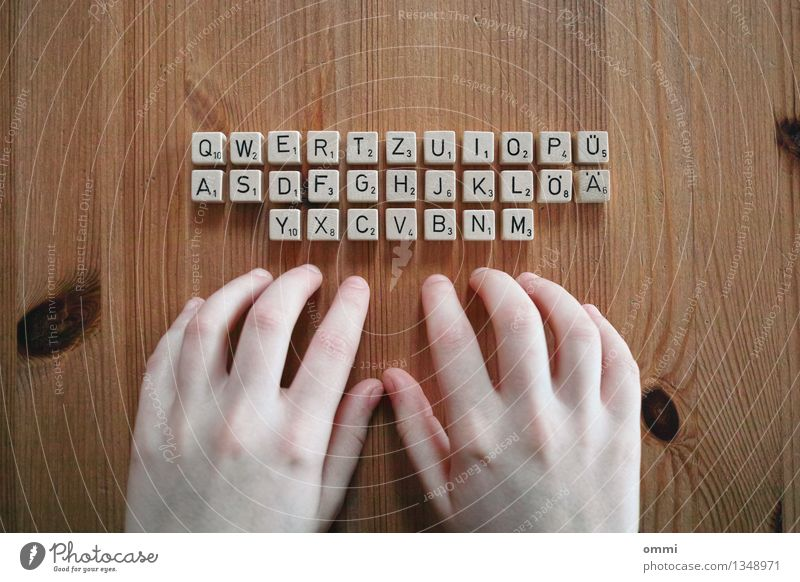 Human being Hand Natural Wood Business Work and employment Design Office Authentic Skin Table Computer Fingers Simple Uniqueness Write