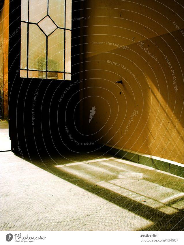 Sun Summer Glass Door Gate Entrance Window pane Backyard Way out Passage Pane Schöneberg Glazier Glass door