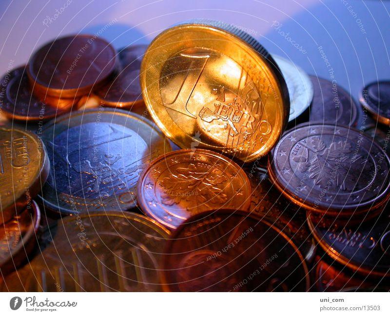 Money Euro Coin Heap