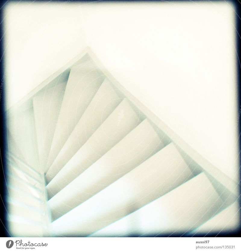 House (Residential Structure) Going Stairs Living or residing Concentrate Under Analog Upward Banister Hallway Downward Grid Viewfinder Hazy Focal point