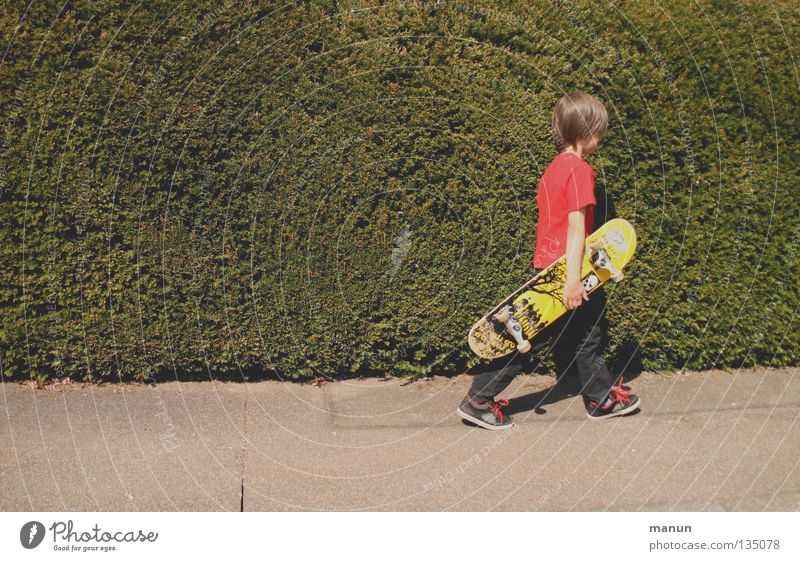 Child Youth (Young adults) Joy Street Sports Movement Leisure and hobbies Asphalt Skateboarding Fatigue Athletic Funsport