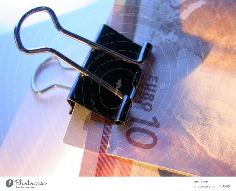 Money Euro Bank note Save Financial Industry 10 Holder Clamp