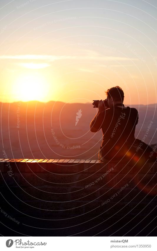 Vacation & Travel Sun Wall (barrier) Leisure and hobbies Sit Esthetic To enjoy Photography Photographer Take a photo Vacation photo Vacation mood Mood lighting