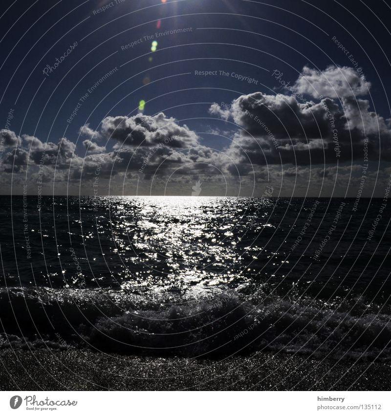 Sky Water Vacation & Travel Sun Summer Ocean Beach Clouds Relaxation Dark Coast Jump Lake Horizon Waves Dirty
