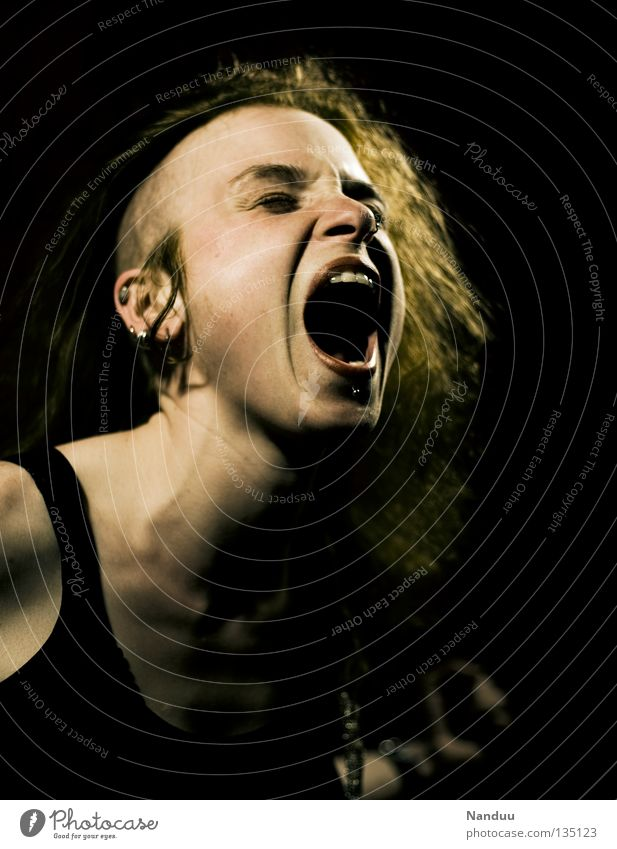 Woman Youth (Young adults) Life Emotions Music Politics and state Human being Lifestyle Anger Scream Exceptional Concert Lust Aggravation Sing Loud