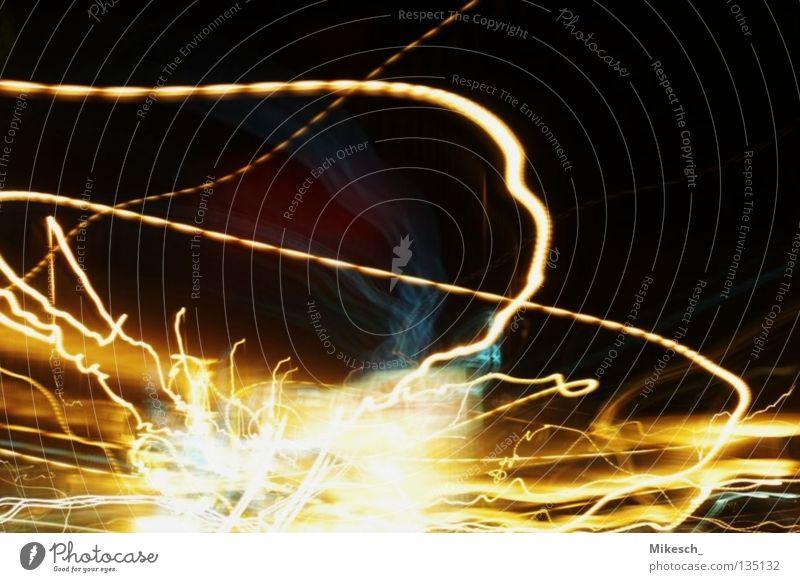 detonation Explosion Long exposure Driving Highway Action Light Car headlights Street