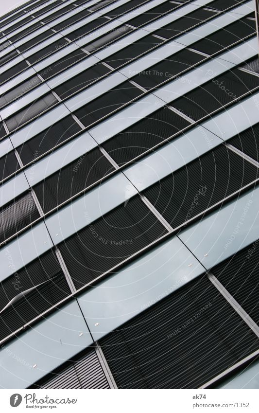 Berlin Window Gray Architecture High-rise Venetian blinds