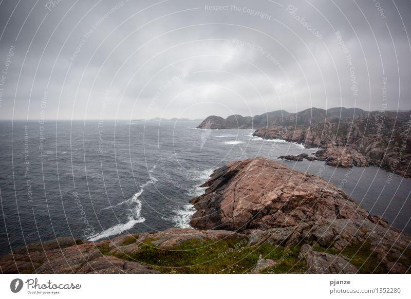 Sky Nature Water Ocean Landscape Clouds Beach Mountain Autumn Grass Coast Gray Horizon Air Fog Waves