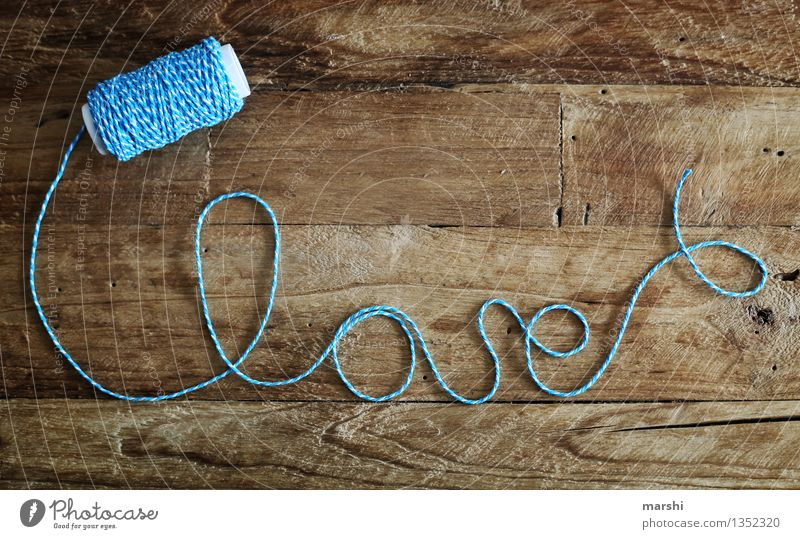 love*love*love Sign Characters Emotions Moody Loyal Sympathy Friendship Love Infatuation Romance String Handicraft Wooden table Rustic Symbolism Valentine's Day