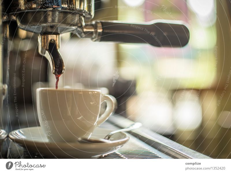 espresso Food Nutrition To have a coffee Beverage Hot drink Coffee Latte macchiato Espresso Crockery Cup Cutlery Healthy Life Harmonious Relaxation Calm