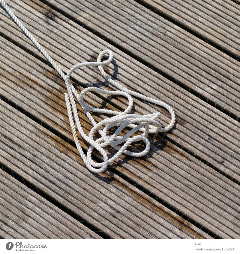 Wood Rope Leisure and hobbies Sailing Footbridge Muddled Knot