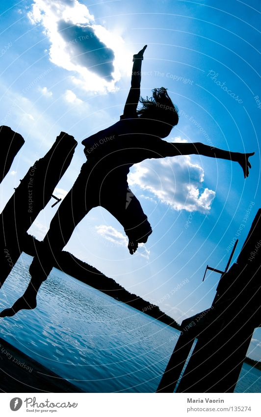 erratic (1) Jump Hop Tall Clouds Jumping power Erratic Movement Lake Free Emotions Joy Enthusiasm Applause Life Healthy Gymnastics Career Springboard Playing