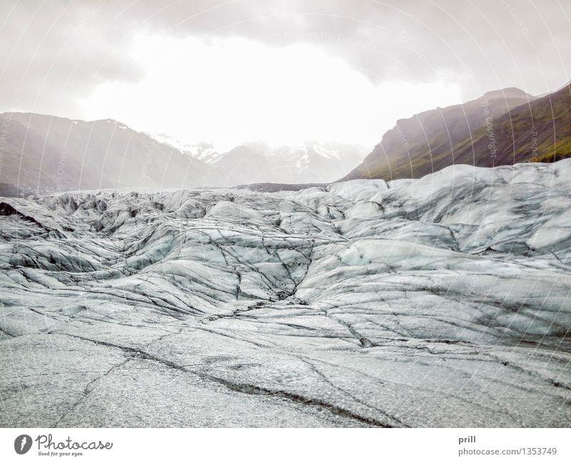 Nature Blue White Landscape Clouds Winter Cold Mountain Rock Tourism Adventure Frost Hill Frozen Crack & Rip & Tear Iceland