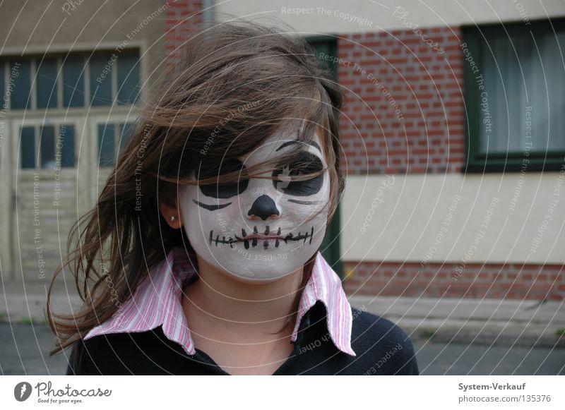 Papa's Beast Hallowe'en Creepy Girl Child Mask Carnival Carnival make-up frankenstein