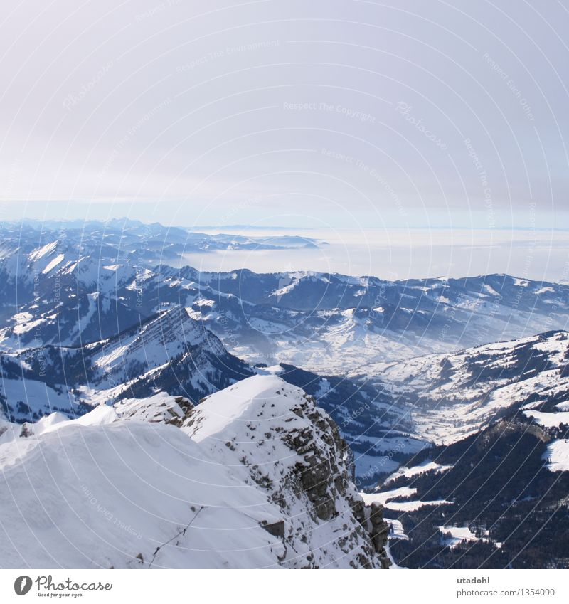 Sky Nature Blue White Loneliness Landscape Calm Clouds Winter Black Cold Mountain Snow Gray Freedom Horizon
