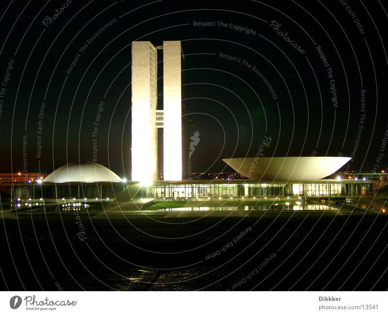 Water Architecture Glass Brazil Bowl Government Brasília