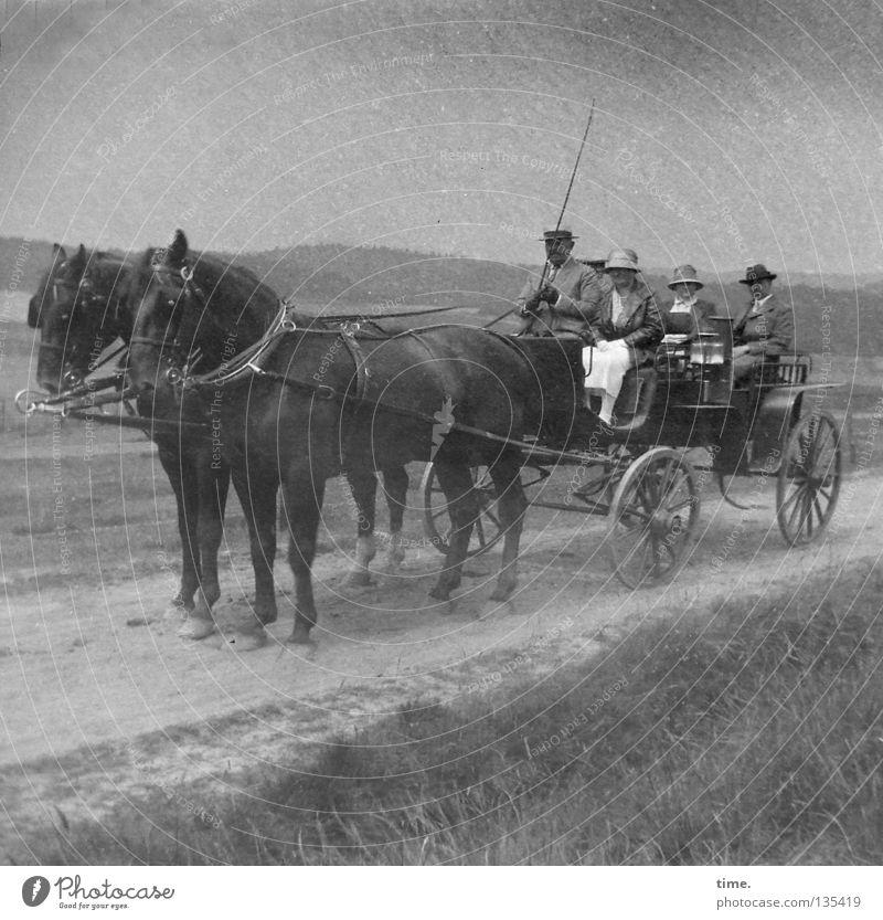 Woman Man Dark Playing Trip Transport Horse Wheel Society Carriage Rural Equestrian sports Wheels Bridle Horse-drawn carriage Whip