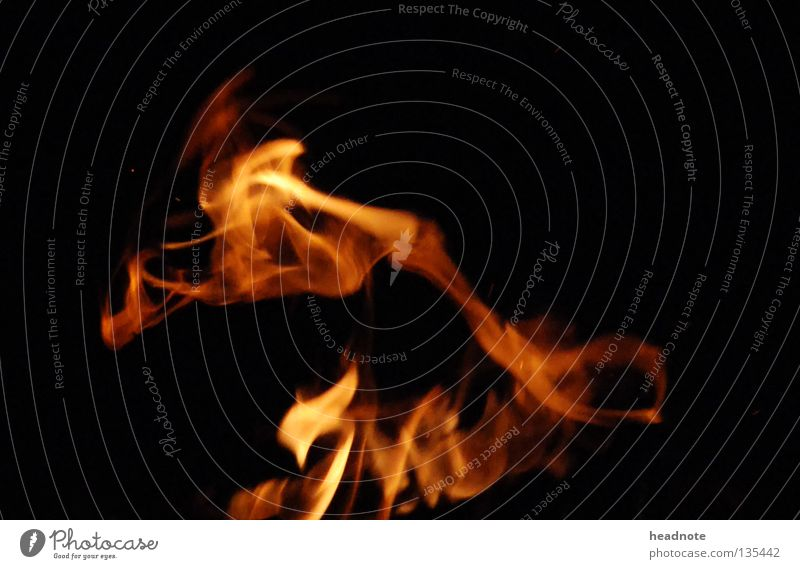 Red Black Yellow Lamp Dark Dance Orange Blaze Fire Burn Flame Fiery