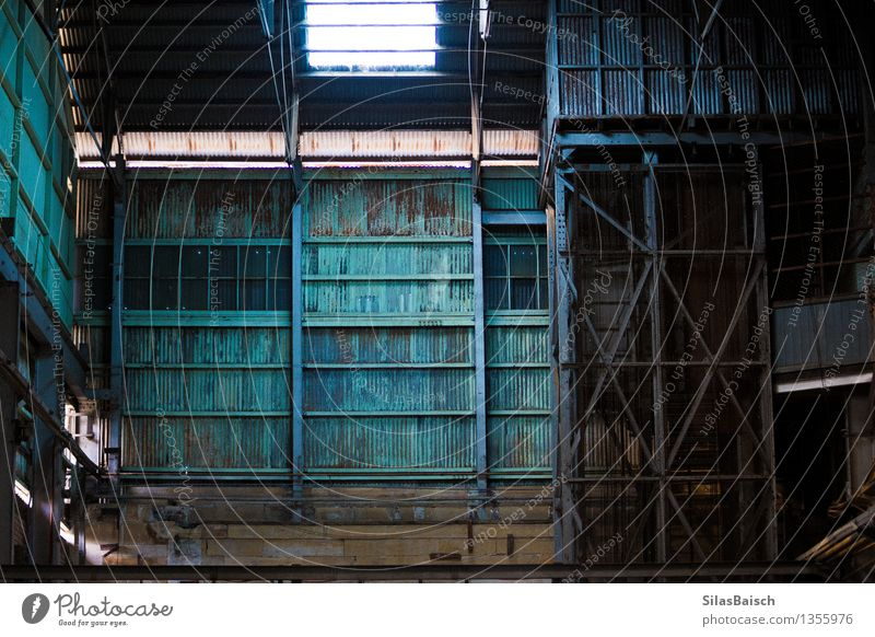 Industry Hall Workplace Construction site Factory Economy Trade Logistics Energy industry Business Company Success Industrial plant Wall (barrier)