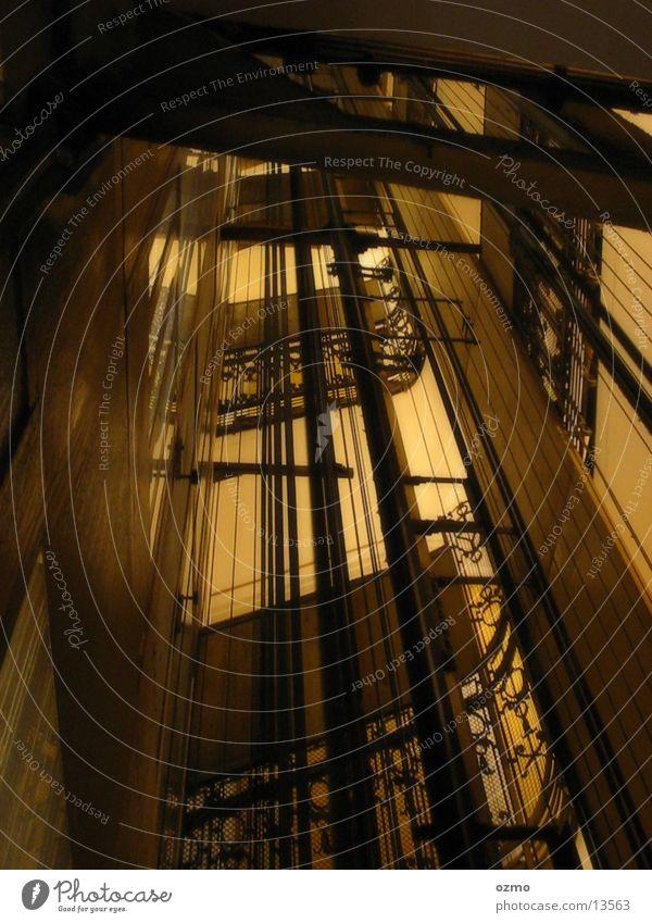Architecture Hotel Elevator Vienna Staircase (Hallway) Shaft