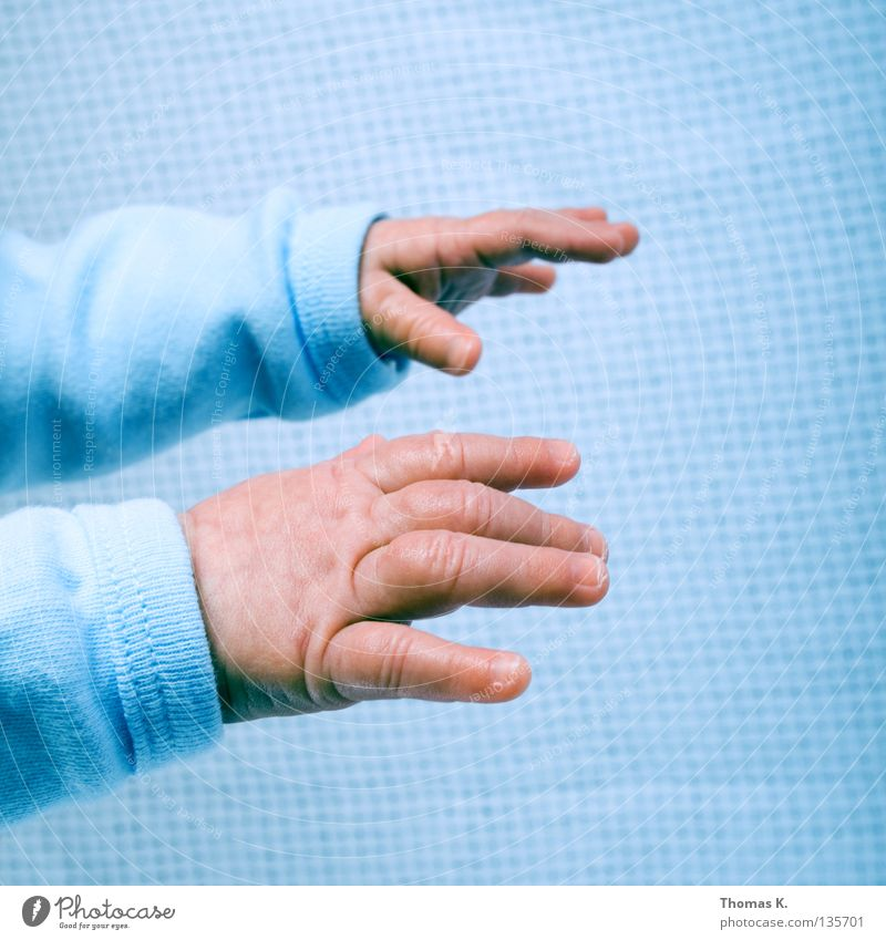 Reach Out, Touch Faith. Child Baby Boy (child) Birth Hand Trust Fingers Fingernail Sweater Long Life New born Happy mother's happiness neighbour child Rich Skin
