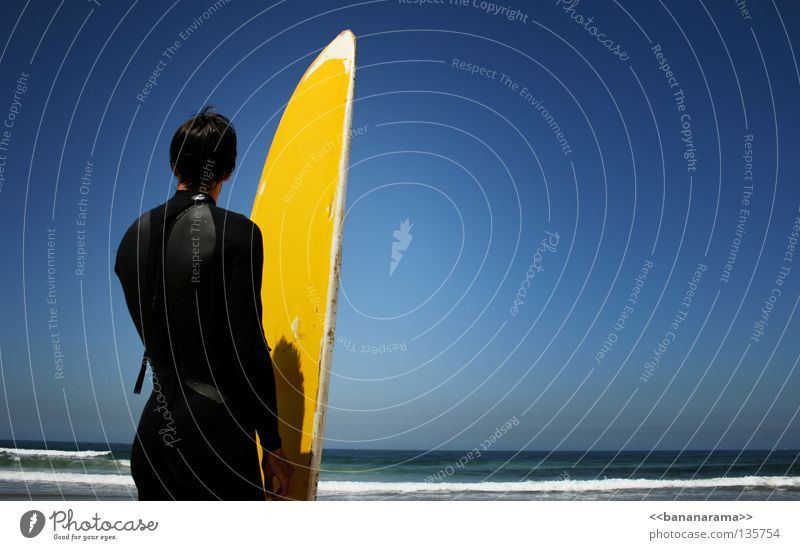 Man Sky Water Summer Ocean Yellow Sports Waves Wind Horizon Part Surfing Surfer Funsport Surfboard Whitewater