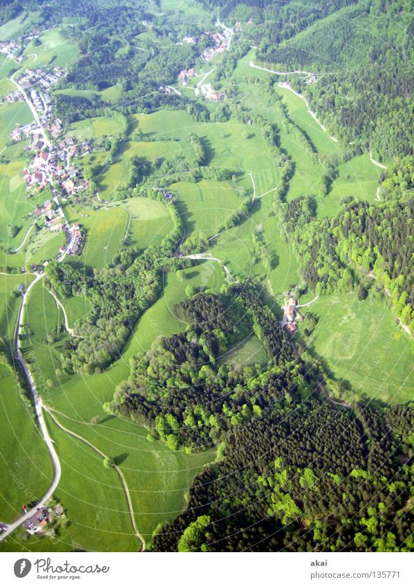 Schauinsland 3 Paraglider Landing Strip Collage Operational Paragliding Play of colours Clearance for take-off Orange Contrast Monitoring Joy flying season