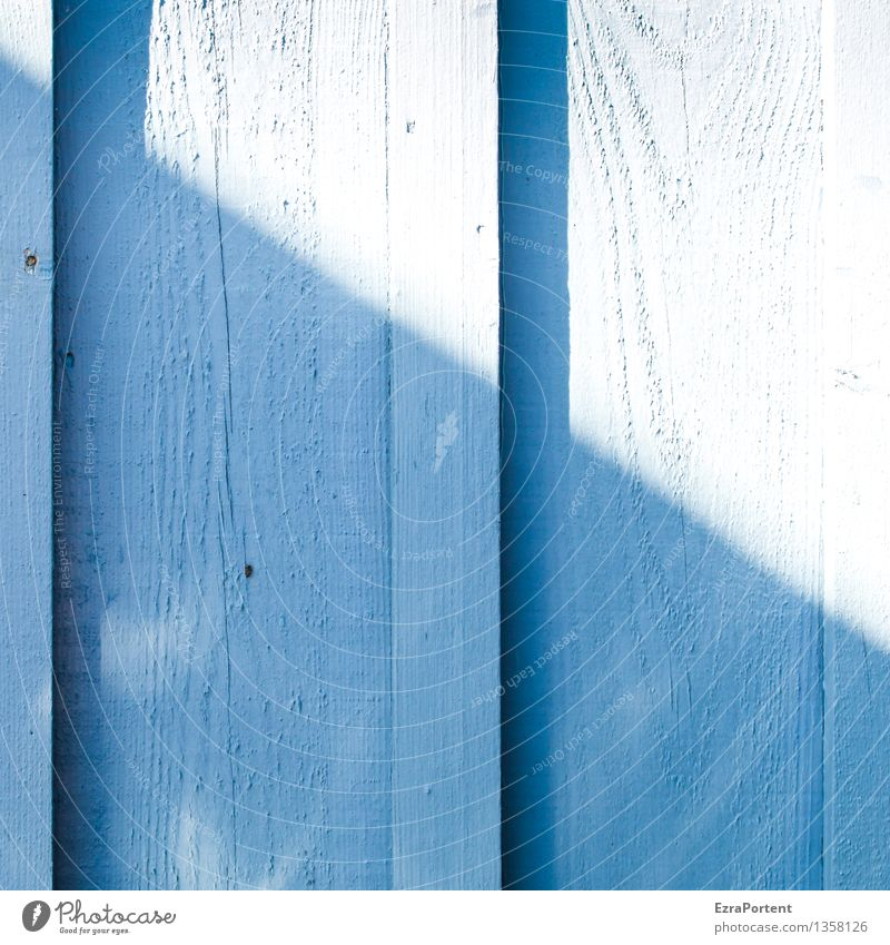 light&shadow Sunlight Wall (barrier) Wall (building) Facade Wood Line Stripe Illuminate Bright Blue Colour Divided Division Shadow Dark side Shadowy existence