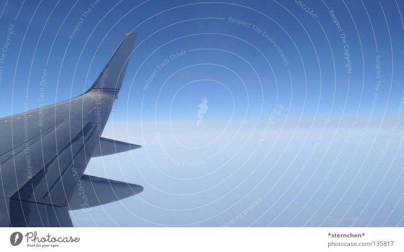Sky White Blue Vacation & Travel Clouds Cold Air Airplane Free Tall Speed Aviation Wing Above the clouds