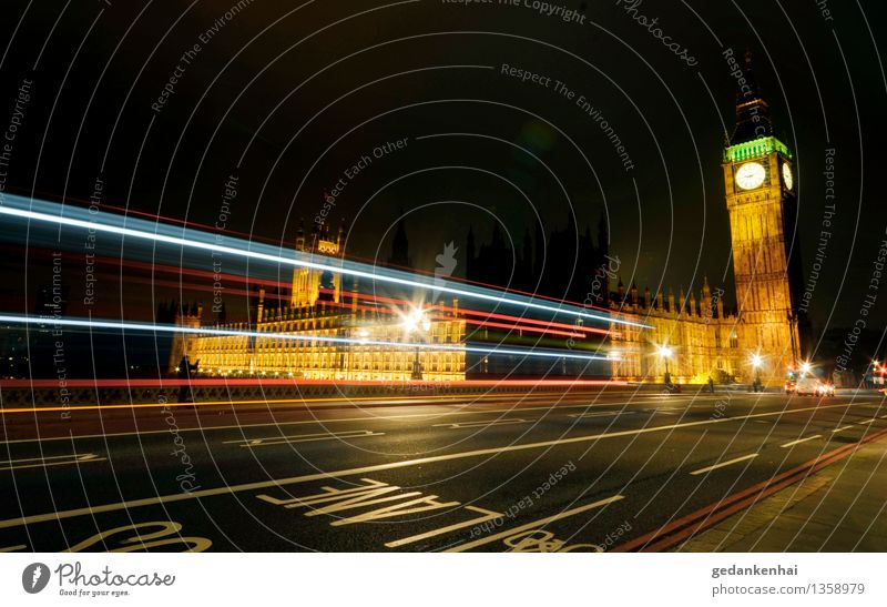 london calling Town Capital city Tourist Attraction Transport Motoring Bus travel Line Movement Driving Advancement Freedom London lane Big Ben England