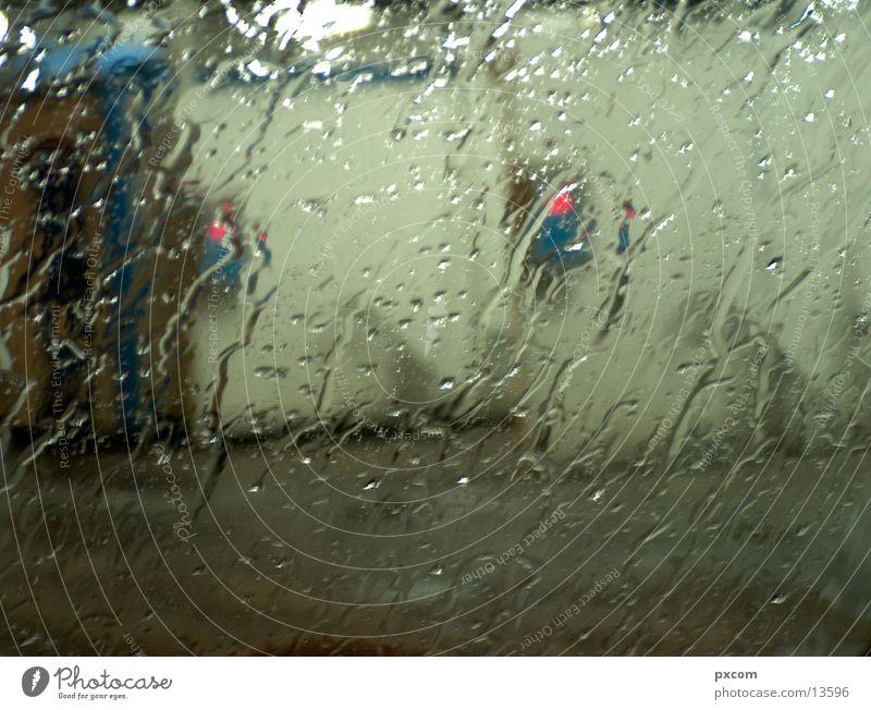 Car Rain Transport Petrol station