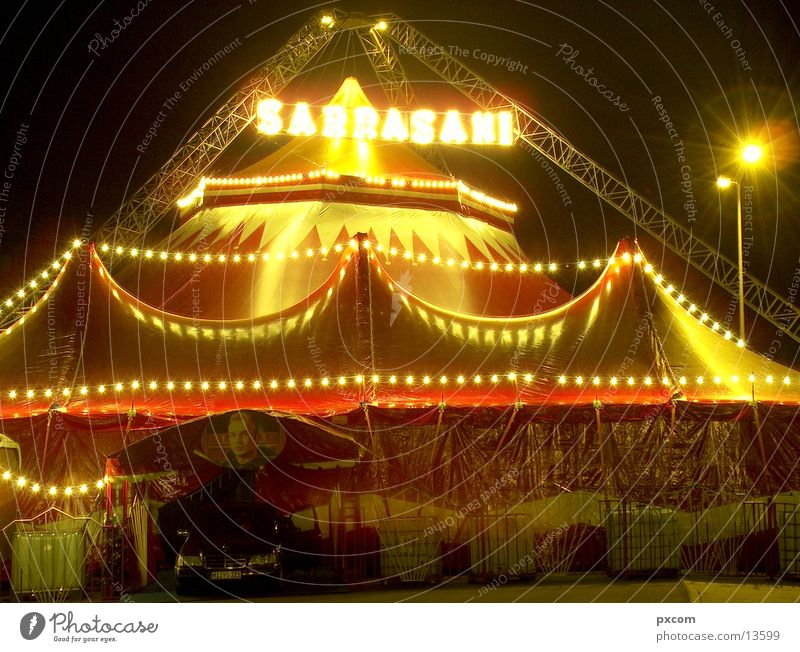 ZRK Sarrasani Circus Night Tent Club Light