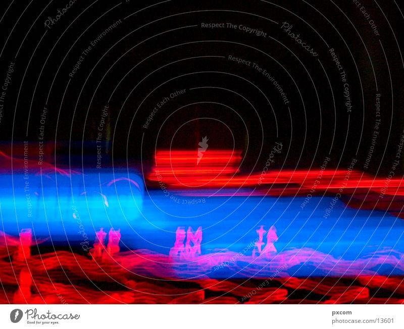 Blue Red Lighting Transport Musical instrument